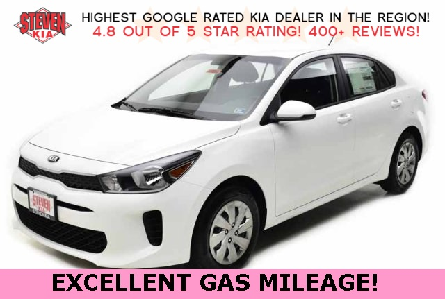 New 2019 Kia Rio LX FWD 4D Sedan