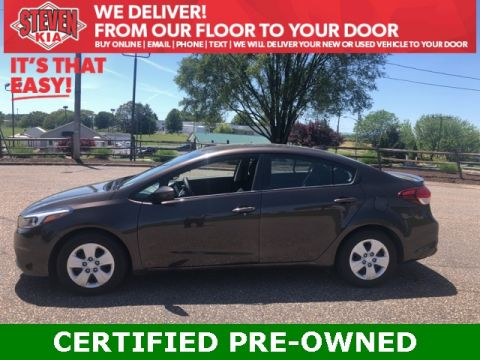 Certified Pre-Owned 2018 Kia Forte LX FWD 4D Sedan