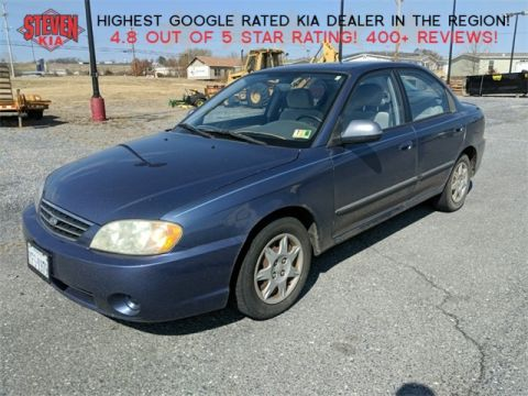 Pre-Owned 2003 Kia Spectra Base FWD 4D Sedan