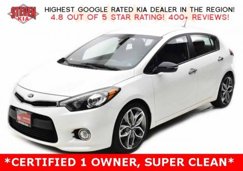 Certified Pre-Owned 2016 Kia Forte SX FWD 4D Hatchback