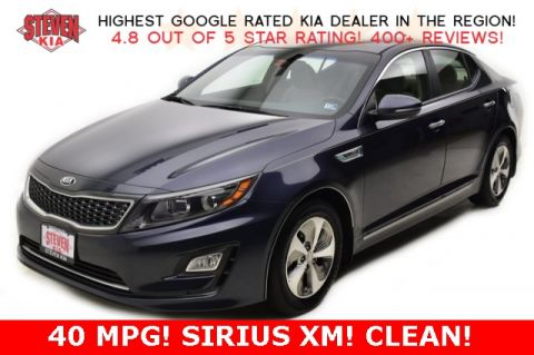 Pre-Owned 2015 Kia Optima Hybrid EX FWD 4D Sedan