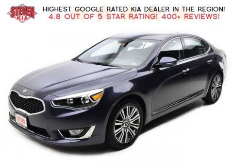 Pre-Owned 2015 Kia Cadenza Premium With Navigation
