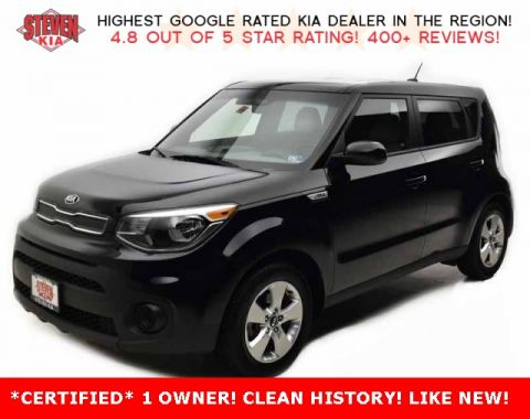 Certified Pre-Owned 2018 Kia Soul Base FWD 4D Hatchback