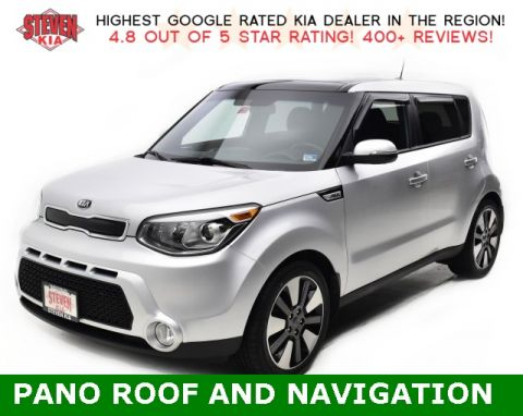 Pre-Owned 2015 Kia Soul Exclaim With Navigation