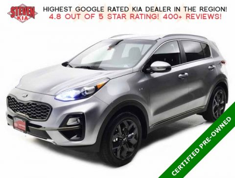 Certified Pre-Owned 2020 Kia Sportage S AWD